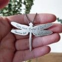 CUSTOMIZED Dragonfly Pendant