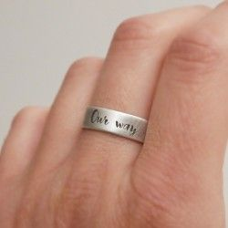 NARROW CUSTOMIZED RING