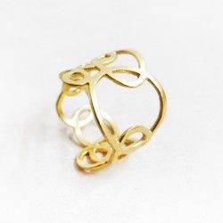 Anillo oro CERCLES Tass Joies