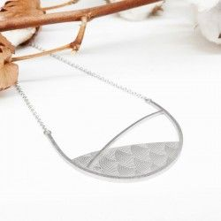 Silver necklace NUNO
