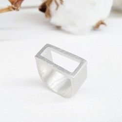 ANGLE silver ring
