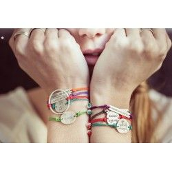 Pulsera plata YOU AND ME FOREVER Pulseras