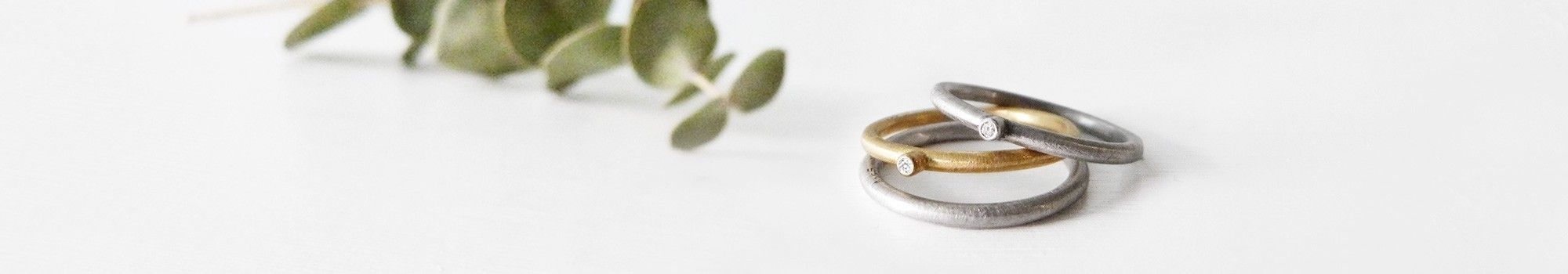 Handmade wedding rings and bands